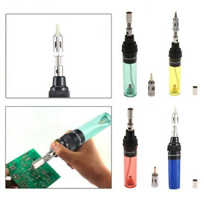 Gas  Blow Torch Soldering Solder Iron Butane Cordless Welding Pen Burner VA-100 • 7.19£