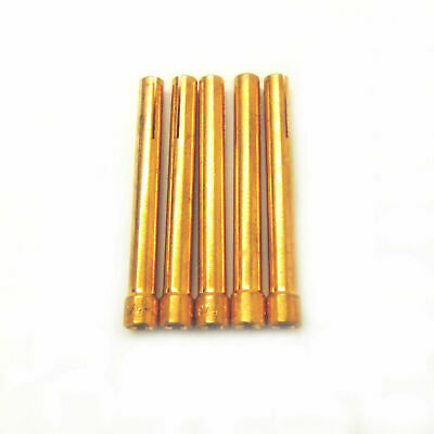 Collet For WP17, WP18 & WP26 TIG Welding Torch 1.0mm 1.6mm 2.4mm 3.2mm & Stubby • 3.74£