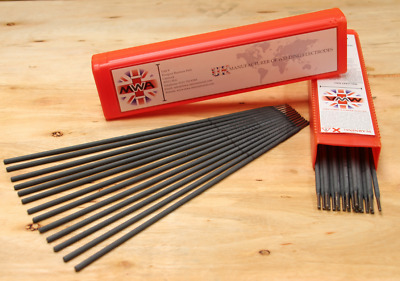 99% Pure Nickel Cast Iron Welding Rods Electrodes 2.6, 3.2mm MMA Stick, Steel  • 35.71£