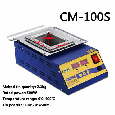 CM100S Lead-Free Solder Soldering Pot 500W 220V Tin Compact Heating Element • 119.99£