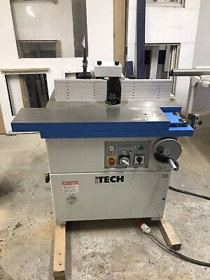 Itech Spindle Moulder 5.5hp Axminster Sm55Is • 2,500£