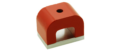 U Shaped Magnet High Power Ndfeb 45 X 30 X 30 Mm With Center Hole Pack Of 2 Pc • 19.18£