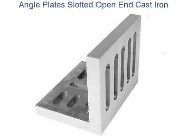 Angle Plate Open End Slotted 112x88x75mm For Milling Jobs Engineering Tools • 61.82£
