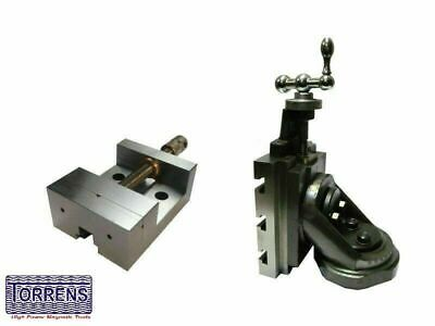 Lathe Vertical Milling Slide - Swivel Base 4  X 5  / 100mm X125mm With 88mm Vice • 146.24£