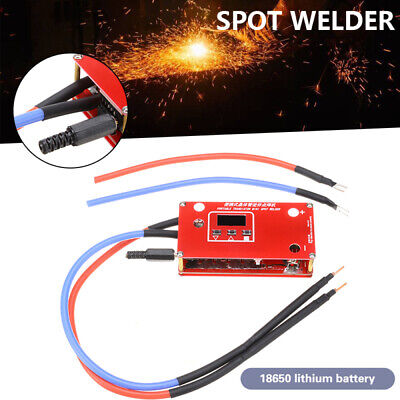 Mini Welder Pen Display Spot Welder Machine Equipment 18650 Battery Power Supply • 19.75£