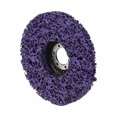5 Inch Nylon Polishing Wheel Buffing Pad Felt Disc Purple • 7.48£
