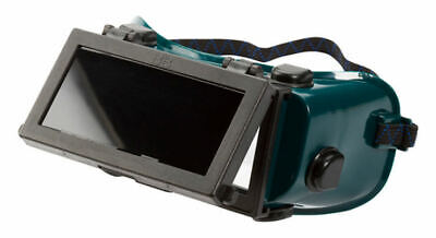 Wide Vision Flip Up Front Gas Welding Goggles 4  X 2  Lenses Shade 5 Cutting • 7.59£