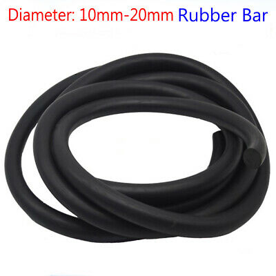 Solid Rubber Round Rod Bar Sealing Strip Bendable Cabinet Door Seal Material • 19.99£