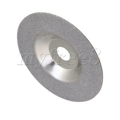 4 Inches Diamond Grinding Disc Grinding Wheel For Mechanical Silver • 17.12£