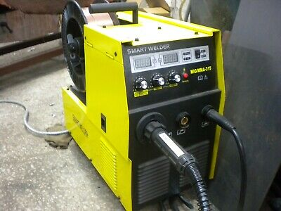 Mig Welder 3 Phase 315amp Nice And Small Powerful 2in1 Arc Welder • 680£