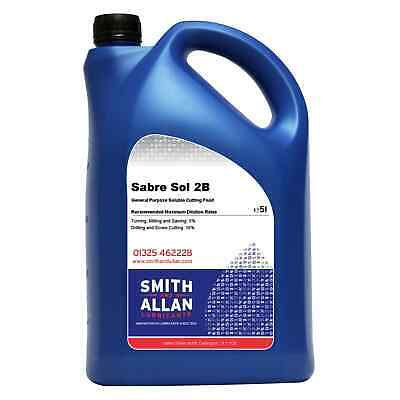 Soluble Metal Cutting Oil Coolant White Water Fluid 5 Litre 5L  • 20.75£