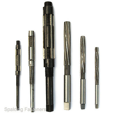 Metric & Imperial Hand Reamers & Adjustable Reamers All Sizes Engineering Tools  • 19.99£