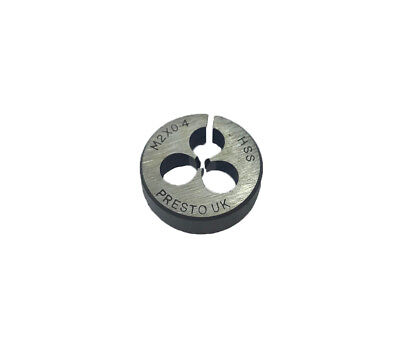 Rdg New Presto Hss Split Die M2 X 0.4 Circular Threading Die Metric 2mm • 9.95£
