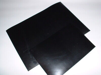 A4 Or A5 Size Black Rubber Multi Use Flat Epdm Rubber Sheet Approx 2.5mm Thick • 4.49£