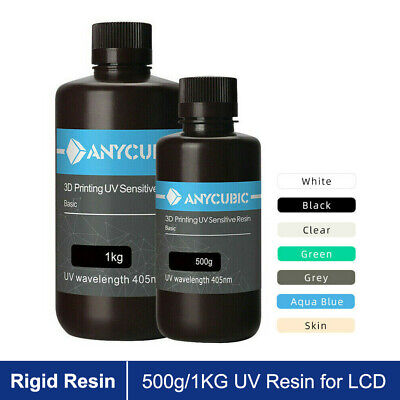 UK ANYCUBIC 500ml/1L Multi Color 405nm UV Sensitive Resin For SLA 3D Printer • 33.90£