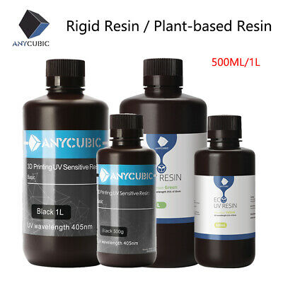 UK ANYCUBIC 405nm UV Based Rapid 3D Resin For SLA LCD Photon Mono X 3D Printer  • 22.99£