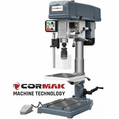 CORMAK W25 Bench Drilling Machine Rotary Pillar Press Tool Table Stand Drill • 1,059£