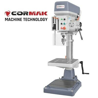 CORMAK WS20 Bench Drilling Machine Rotary Pillar Press Tool Table Stand Drill • 1,039£