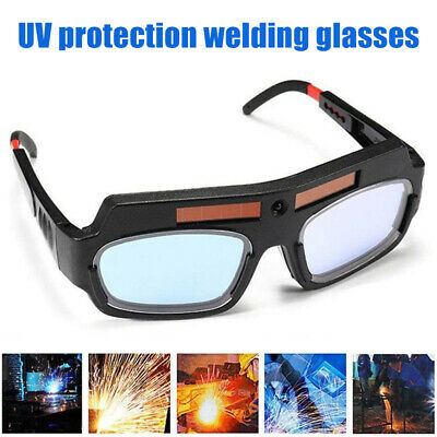 Solar Auto Darkening Welding Goggle Safety Protective Welding Glasses Anti-Flog • 12.36£