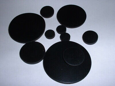 3mm Thick Odd Mm Sizes Flat Round Epdm Rubber Disc Choose Diameter Pack Of 5 • 4.39£