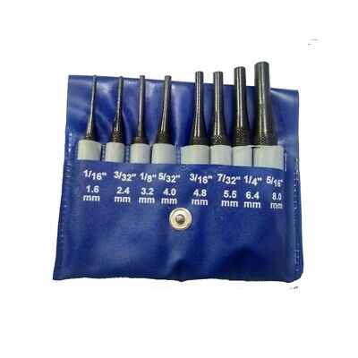 Short Drive Pin Punch Set Of 8 Pcs Hardened And Ground Set • 30.65£