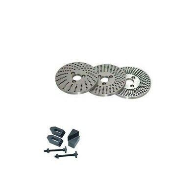Dividing Plates 4 Inches 100 Mm Indexing Plate With Clamping Kit M8 • 53.85£