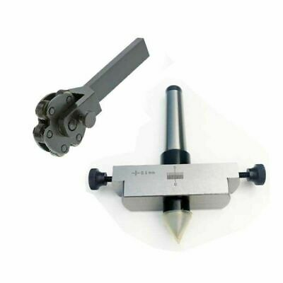 Taper Turning MT3 Shank For Lathe Tailstock With Knurling Tool 6 Knurl • 57.58£