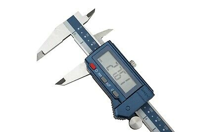 Dasqua Waterproof Digital Vernier Caliper Fraction 0-200mm / 0-8  2000-1010 Rdg • 42.50£