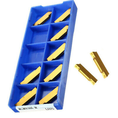 MGEHR2020-3 Lathe Turning Cutter Tool Holder And 10Pcs MGMN300 Carbide Insert • 17.50£