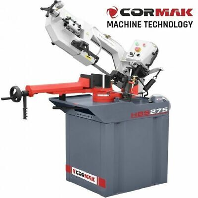 CORMAK HBS275 Metal Band Saw Metalworking Gravitational Hobby Bandsaw Cutting  • 1,494£