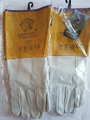 Parweld P3838 Panther Tig Welding Gloves 2 Pairs Size 10 • 9£
