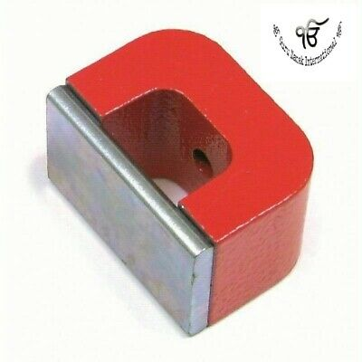 U Shaped Ndfeb Magnets High Power 30 X 20 X 20 MM With Center Hole Pack Of 5 Pc • 51.93£