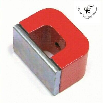 U Shaped Magnet High Power Ndfeb 45 X 30 X 30 Mm With Center Hole Pack Of 2 Pc • 25.90£