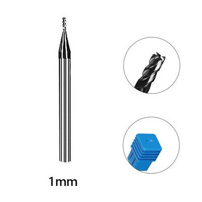 4 Flute Solid Carbide End Mill 1-12mm Milling Cutter Slot Drill Tungsten Steel • 26.39£