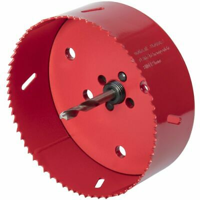 Wolfcraft Hole Saw 121mm Bi-Metal Red Drill Accessory Cutter Tool 5497000 • 32.51£