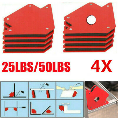 25lb 50lb Welding Magnet Right Angle Square Holder Soldering Durable Clamp Holds • 8.99£