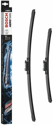 Bosch Wiper Blade Aerotwin A555S, Length: 600mm/400mm – Set Of Front Wiper Blade • 25.67£