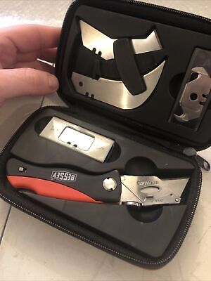 Brand New Bessey DBK Folding Knife Multi Blade Set And Case  • 15.30£