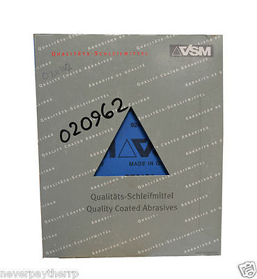 VSM Sanding Sheets.CP918A 50pcs Grit 240 NEW FREE P&P UK MAINLAND • 18.98£