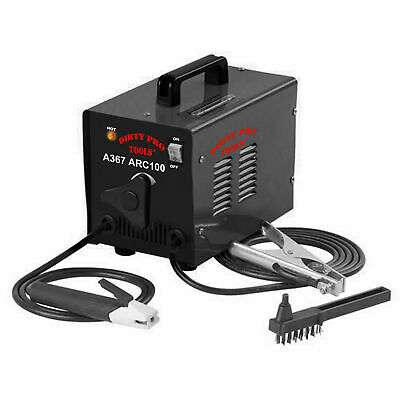 100 Amp Arc Welder Stick Metal Steel Welder 240v 100A Electric With Accessories • 59.94£