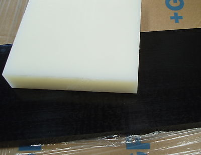 NYLON 66 Nat Plate 30 Mm Thickness Various Standard Size And Cut Pieces • 29.40£