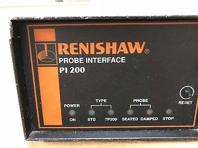 Renishaw Pi200 Probe Interface Controller Cmm • 160£