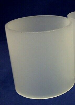 150mm Frosted Acrylic / Perspex Round Plastic Tube Length 940, Dia 150, Wall 3mm • 50£