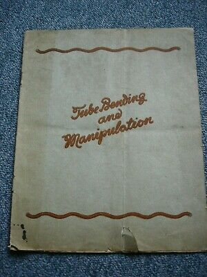 Vintage 1920s? TB BILTON Sons Tube Bending & Manipulation Catalogue NorthShields • 16.95£
