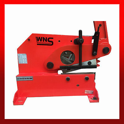 WNS LC10 Metal Lever Cropper Shear Guillotine 200mm 8  Flat Round Square Angle • 300£