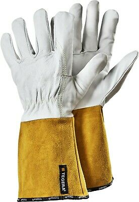 ~~ Tegera 130A Leather Welding Heat Resistant Gloves All Sizes ~~ Metalwork ~ • 9.95£