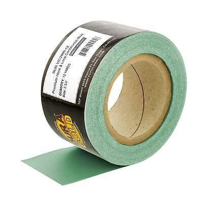 Dura-Gold 2000 Grit Green Film Longboard Sandpaper Roll 2-3/4  Wide, Hook & Loop • 17.85£