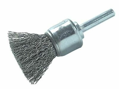 Lessmann DIY End Brush With Shank 25mm 0.30 Steel Wire • 11.03£