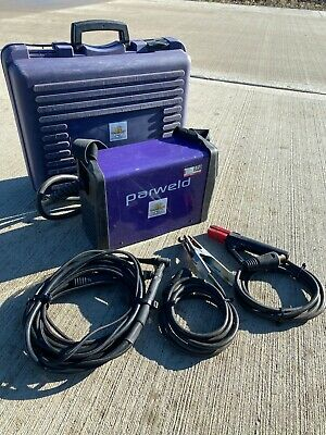Parweld XTi- 161DV 160Amp Portable Arc Welder With Case And Leads £250 + VAT • 300£