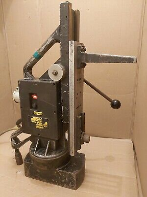 Metworking Large Magnetic Drill  Stand Black &Decker 110v • 150£